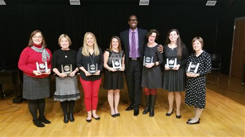 Fall 2016 Award of Excellence winners