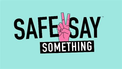 Safe 2 Say logo