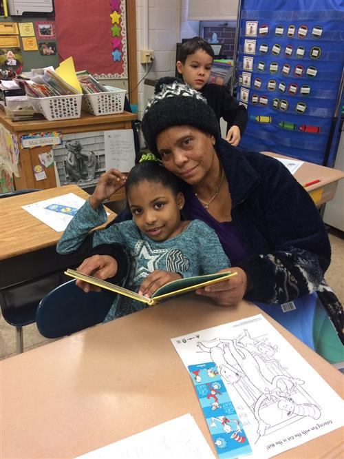 Parent Readers at 16th and Haak Elementary