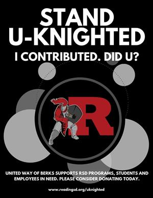 Stand U-Knighted Poster