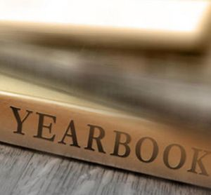 Yearbook Stock Image