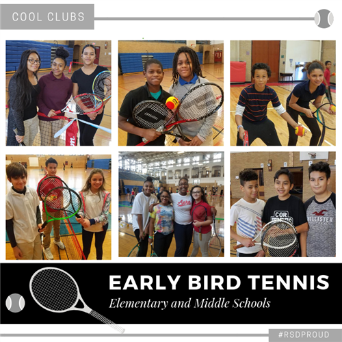 Early Bird Tennis Program