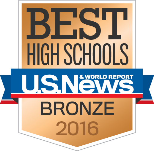 US News Bronze School 2016 Logo