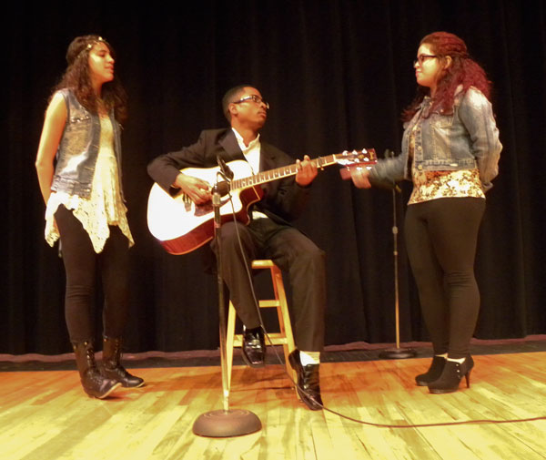 Students perform at the RHS Talent Show
