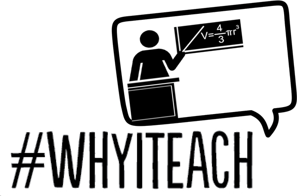 Why I teach logo